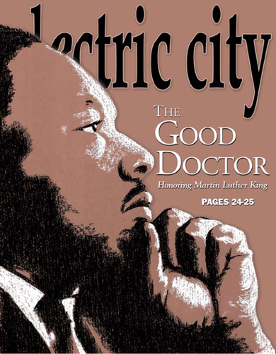Electric City MLK Cover