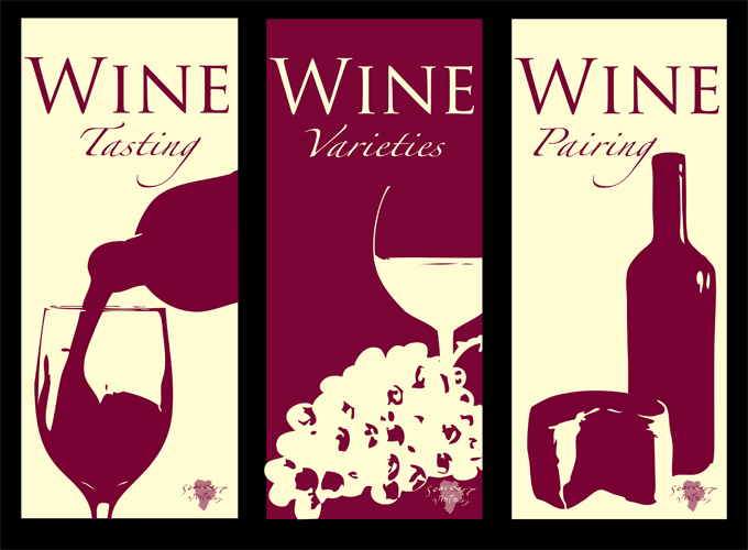 Wine Brochure Covers