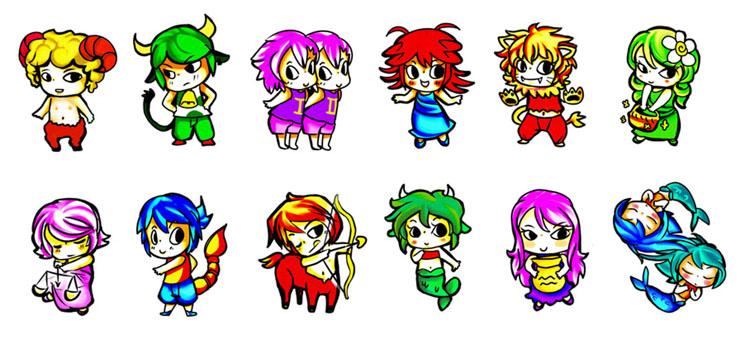 Zodiac Characters