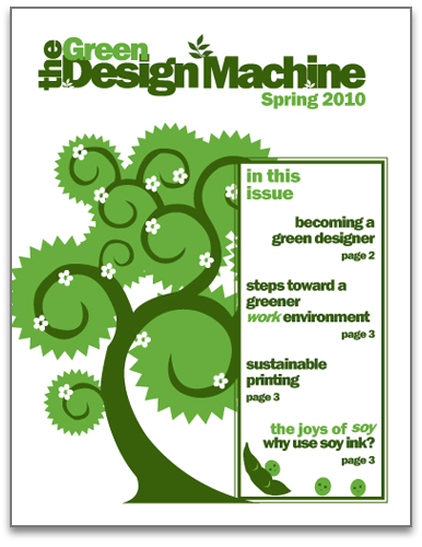 Green Newsletter Cover