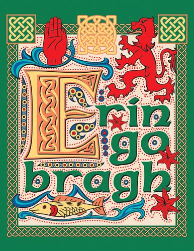 Illuminated Celtic Type