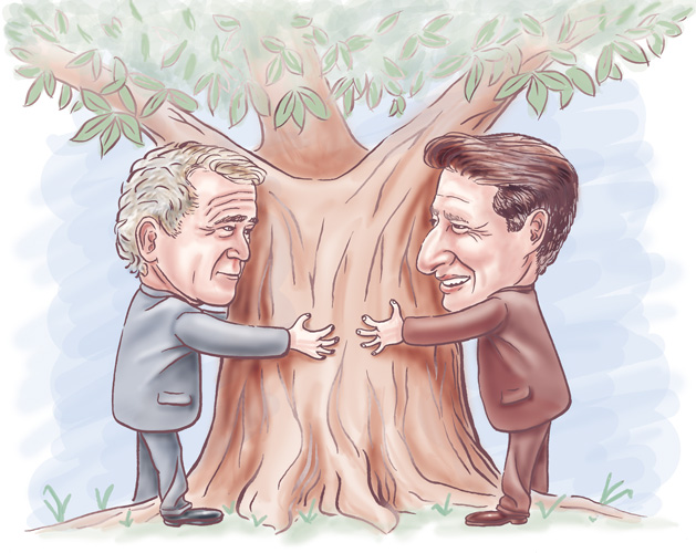 Bush & Gore on the Environment