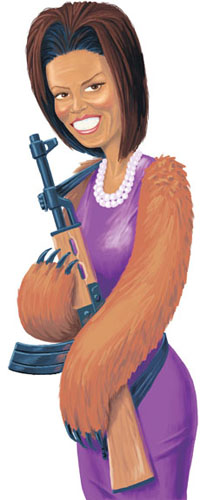 Michele Obama and the Right to Bear Arms