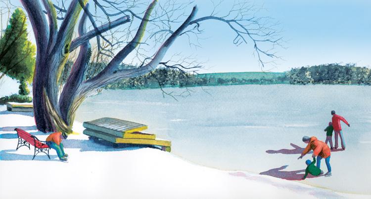 February Lake