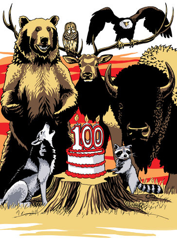 National Parks' 100th Birthday