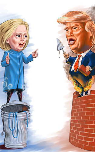 Hillary & The Donald