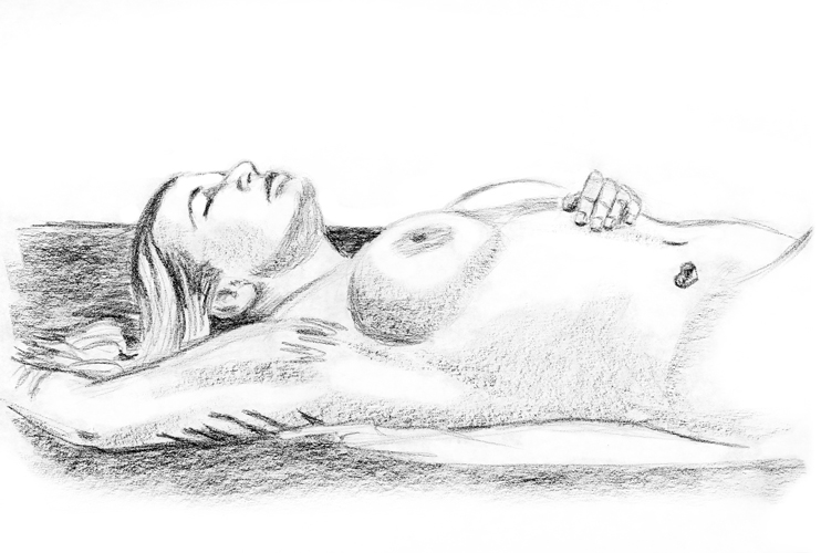 Reclining Nude 0217