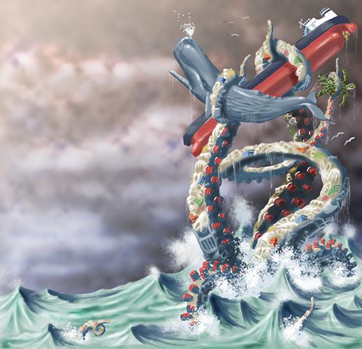 The Plastic Kraken
