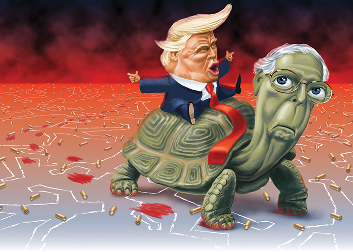 """Trump & Mitch """"The Turtle"""" McConnell"""